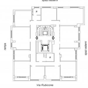 Roma,RUBICONE11,2 BagniBagni,Ufficio,RUBICONE,4,1056